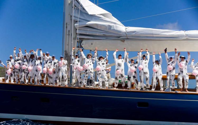 stag and hen party sailing gb